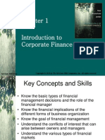 Fundamentals of Corporate Finance  Chap 001