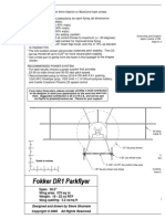 Fokker DR1 Plans (Assembly Drawing)