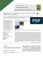Estudio de Soportes [1], Xu-Lei Sui and Col., Journal of Power Sources 255 (2014) 43 - 51