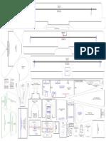 Fokker DR1 Plans (Parts Templates Non-Tiled)
