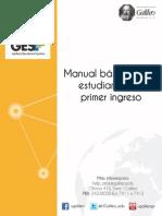 Manual b Sico Para Estudiantes de Primer Ingreso 4.0