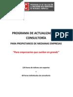 PAC - Programa de Actualización y Consultoría para Propietarios