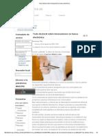 Tesis Doctoral Sobre Innovaciones en Banca Electrónica
