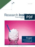 Sugar Consumption at a Crossroads