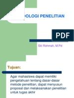 metodologi penelitian ppt