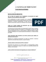 Consultas Tributarias Devol. Impuestos Oct 2008
