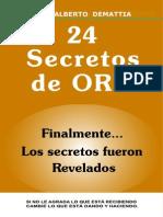 24 Secretos de Oro