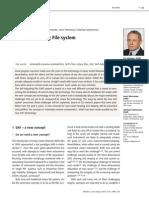 2013 Metzger - The Self-Adjusting File System