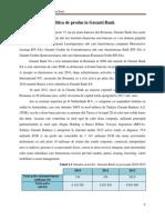 Politica de Produs - Garanti Bank