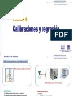 Calibración y Regresiones