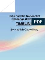 India and the Nationalist Challenge TIMELINE OFFICIAL COMPLETED