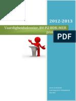 beroepsvaardigheid p2 - vaardigheidsdossier