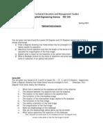 Final Exam Questions #5- Optical Instruments