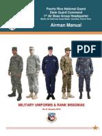 Military Uniforms & Ranks  (1ABG Airman Manual Chapter 4)
