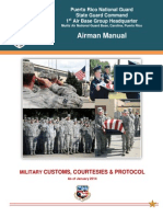 Customs & Courtesies ( 1ABG Airman Manual Chapter 5)