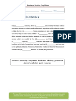 Gap Filler Planned Economy