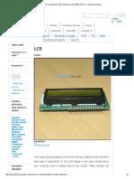16 x 2 LCD Datasheet _ 16x2 Character LCD Module PINOUT - EngineersGarage