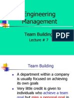 Lecture7 , Team Building, Recruiting Team Members