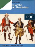 (L) Laminas Blandford - Uniformes Independencia Americana