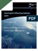 Vortrag Carbon Footprint