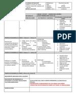 Formato Planeación de Clase Primer Periodo 2