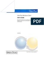 Vista Plus Windows Client Users Guide