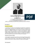 Carta Encíclica Populorum Progressio (2)
