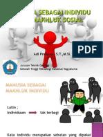 4 Manusia Dan Makhluk Sosial