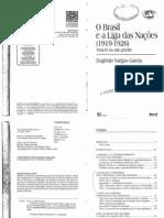 Livro O Brasil e a Liga Das Nações