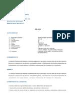 Silabo_resistencia de Materiales i
