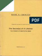 The Secret s of a Lifetime