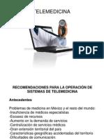 1) Telemedicina