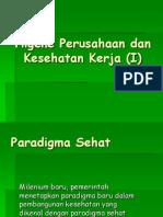 K - 1 Paradigma Sehat