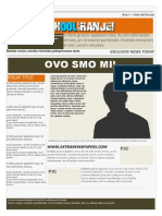 Word Newspaper Template 3 (.Doc)