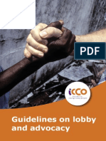 8. ICCO Guidelines on Lobby and Advocacy 2010