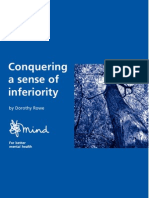 Psychology, Help) Conquering a Sense of Inferiority