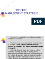 Management Strategic Braila - Prezentare