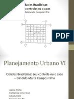 Cidades Brasileiras- o Seu Controle Ou o Caos