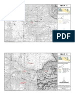 Defense-Related Uranium Mines location maps for west San Miguel County, Colorado.