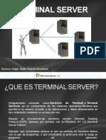 Terminal Server - Suarez Escobedo