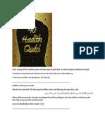 Forty Sacred Hadith Qudsi Arabic and English PDF