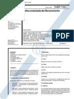 NBR 7581 - 1993 - Telha Ondulada de Fibrocimento