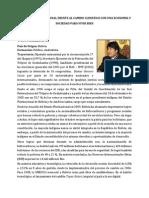 Resumen Biográfico - Seminario Internacional Economía y Sociedad