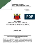 Reglamento 4-27 Sustancias Quimicas Controladas en Voladuras