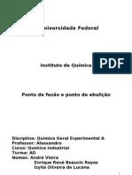 Relatório experimental 1-PF e PE
