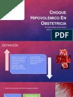 Choque Hipovolémico en Obstetricia