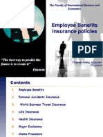 8. Employee Benefits - 2012