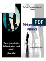 9. Third Party Liability Insurance