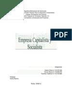 Empresas Socialistas y Capitalistas