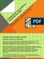 Diapositiva Formacion de Los Conceptos Cientificos Del Niño